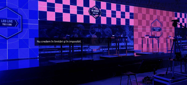Inchiriere Ecrane LED si productie evenimente in Brasov si Romania